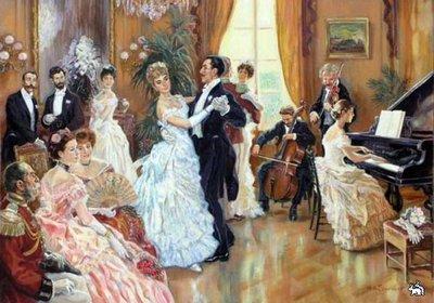 Танцы в 19-м веке