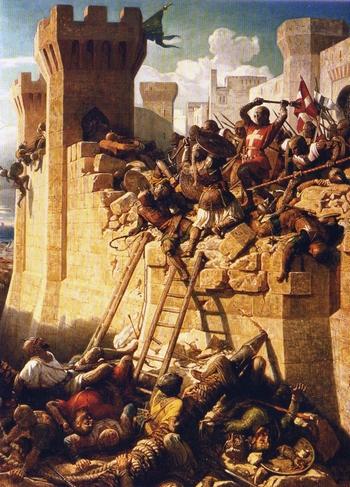 Битва мальтийских рыцарей