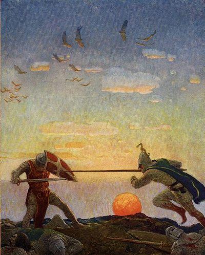 Битва Модреда и Артура