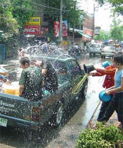 Обливание в Таиланде