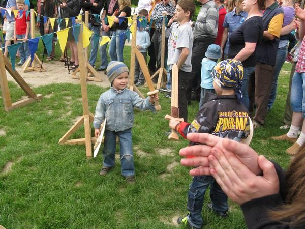 Маленькие будущие рыцари