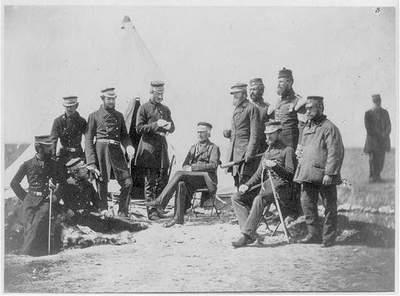 Первый военный фоторепортаж