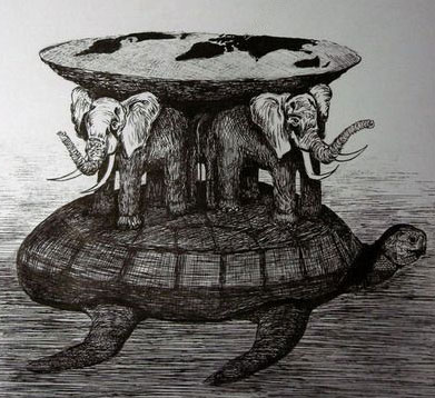 Земля на трьох слонах
