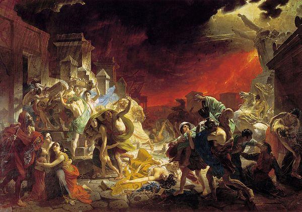 Трагедія Помпеї