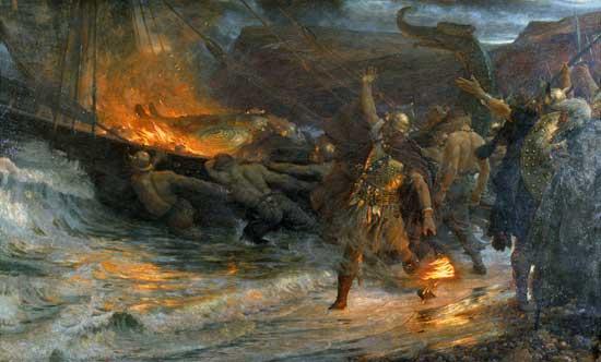 Похороны викинга