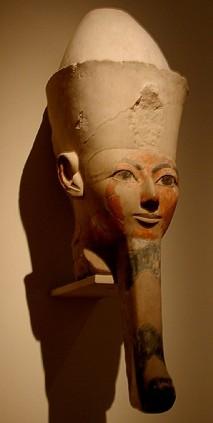 Маска єгипетської царівни з бородою