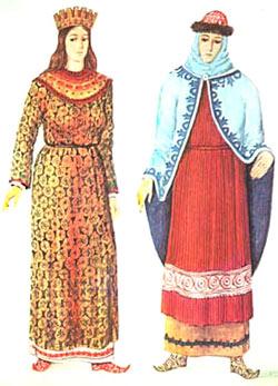 Византийские одежды