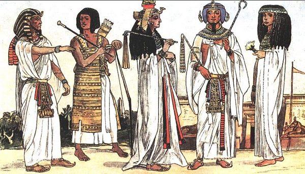 одежда древних народов