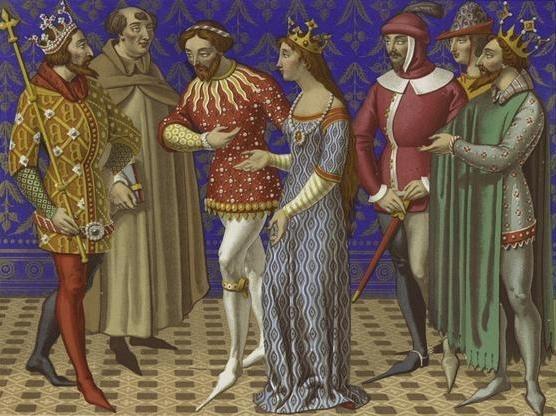 Одяг середньовіччя