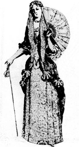 Одежда эпохи Людовика XIV