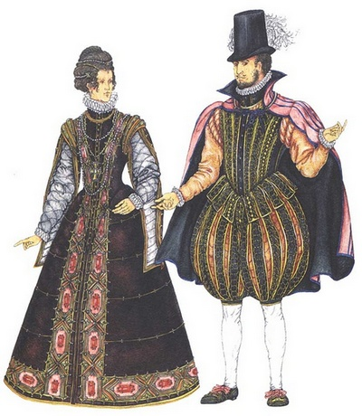 одяг 16-го століття