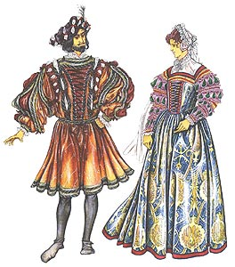 Одежда 16-го века