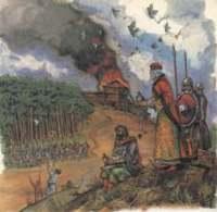 Повітряна війна у середньовіччя