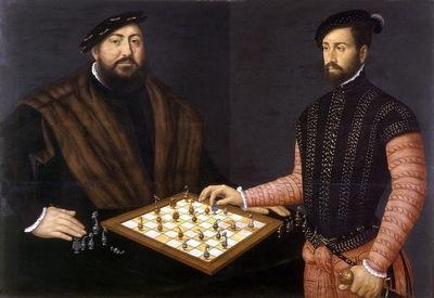 Курфюрст Саксонский и шахматы