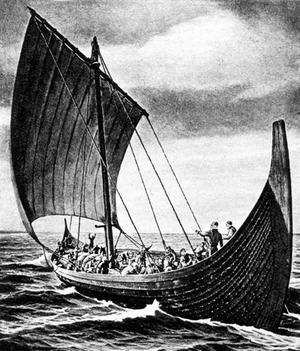 Корабель вікінгів