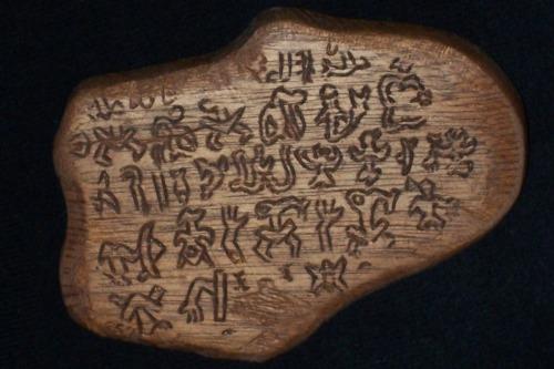 письмена острова Пасхи