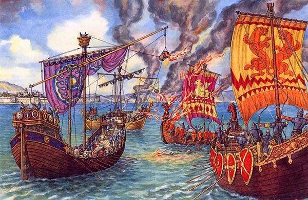 морска битва