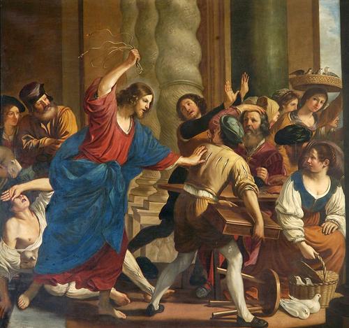 Иисус проганяет торговцев