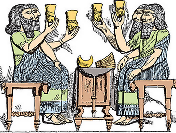 новый год в Ассирии