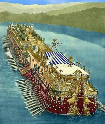 Корабли из озера Неми