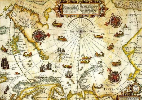 Карта Вильяма Баренца
