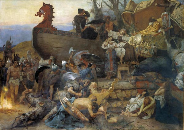 поховання руса