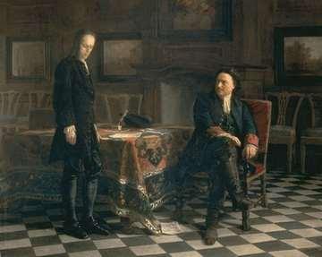 Царь Петр и царевич Алексей