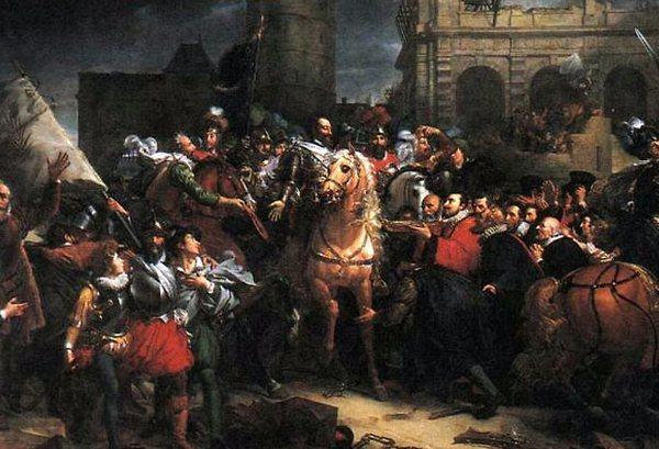 Торжественный вьезд Генриха в Париж