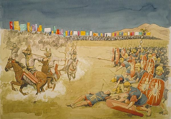 Битва римлян и парян