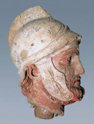 Голова воина