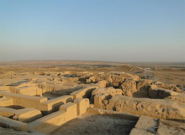 Руины Нисы