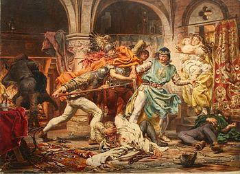 убийство короля