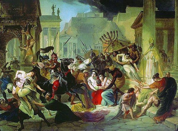 Грабування Риму варварами