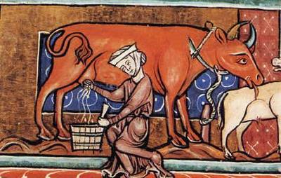 Средневековая крестьянка