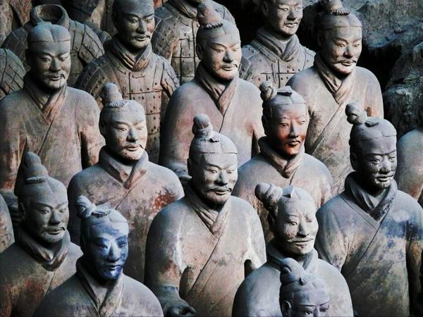 Теракотова армія імператора Цинь Шихуанді
