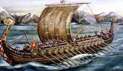 ладья викингов