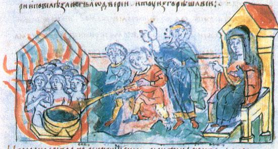 второе посольство древлян к Ольге
