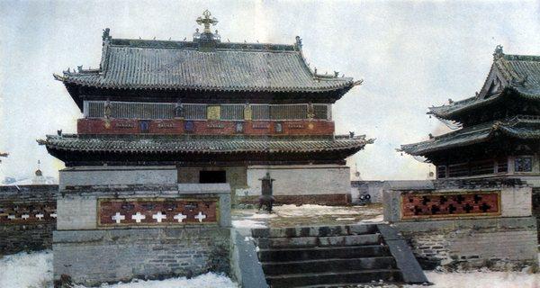 Монастырь Эрдэни-дзу