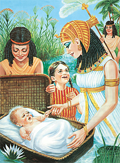 маленький Моисей