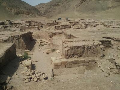 Бактрийский город Тахти-Сангин