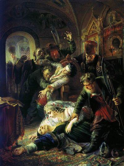 Убийство Федора и Марии Годуновых