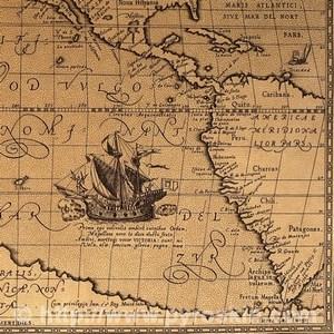 Карта океану