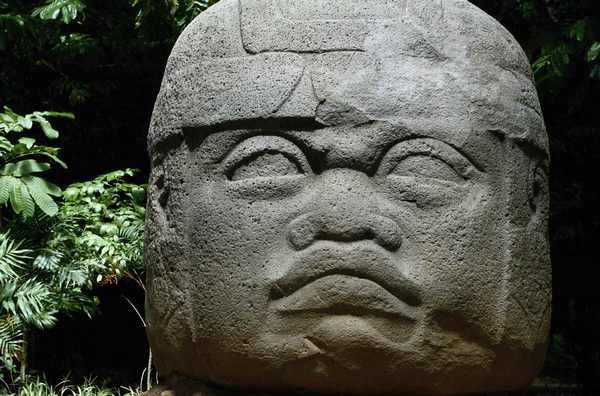 Ольмекські голови