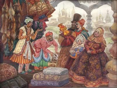 индийские купцы в Москве