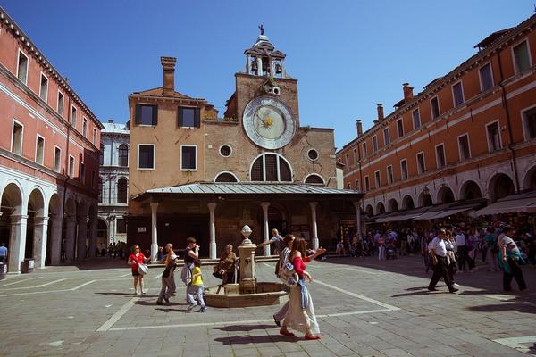 Венеция площадь Сан Джиакомо