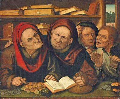 средневековые купцы