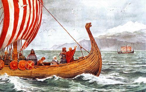 дракар викингов