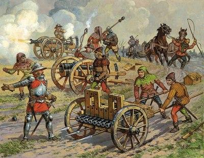 Артилерия позднего средневековья