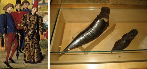 средневековая обувь