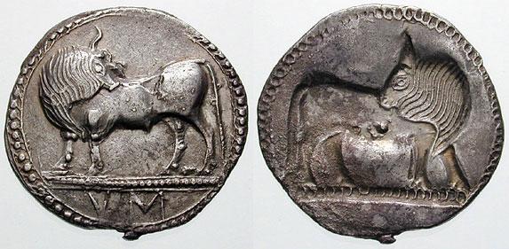 монеты Сибариса